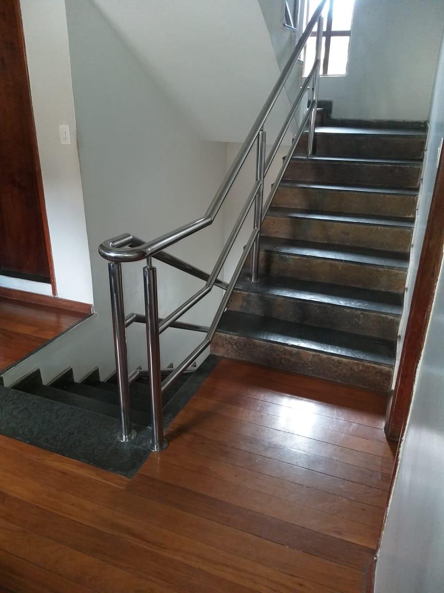 Corrimão inox BH e corrimão de escada